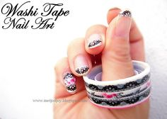 Meijos Joy .... Happy Mothers Day: Washi Tape ...Nail! #washitape #craft