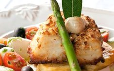 Bacalhau com legumes da chef Andréa Tinoco
