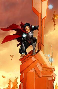 #Superman #Fan #Art. (Kal-El Of Krypton) By: JosephCAW. ÅWESOMENESS!!!™ ÅÅÅ+