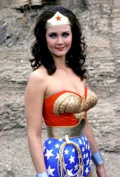 MY HERO! Wonder Woman - had its origins in a November 1975 TV movie — The New, Original Wonder Woman. The movie & series starred Lynda Carter as Wonder Woman/Diana Prince. It aired first on ABC - and later on CBS - Linda Carter, Alexandre Le Bienheureux, To The Bone Movie, Actrices Hollywood, Superhero Movies, Old Tv Shows, My Childhood Memories, Scene Photo, Celebs