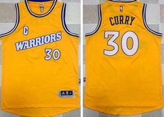 7f65588fe84 Warriors Stephen Curry Gold New Throwback The Finals Patch Stitched NBA  Jersey Week