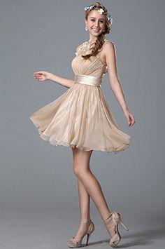 Flattering Sleeveless Party Dress Homecoming Dress (04150514)