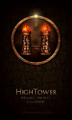House High Tower - 'Game of Thrones' House Banners by Jie Feng