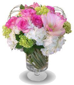 Chantilly by Dr Delphinium  Roses, Hydrangea, Amaryllis