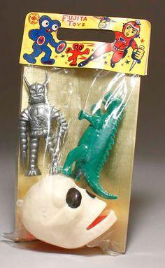 Japanese plastic toys by Fujita