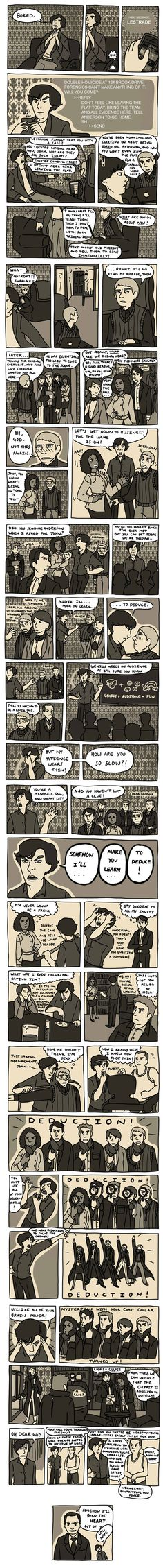 Sherlock/Mulan Mashup! Strangely enough, a WIN.