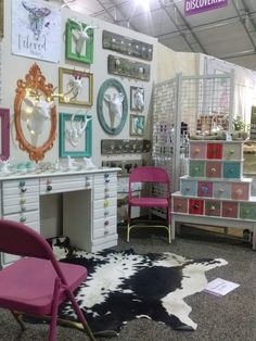 I recently went to the Las Vegas World Market center to set up a booth at the home/gift show for my business, Reloved Living.  My sister and business partner, Emily and I drove there and spent two day