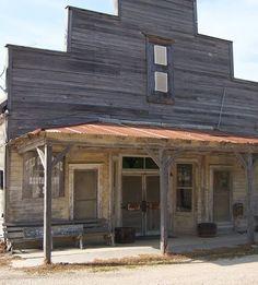 """The Old Store"" in westphalia, texas"