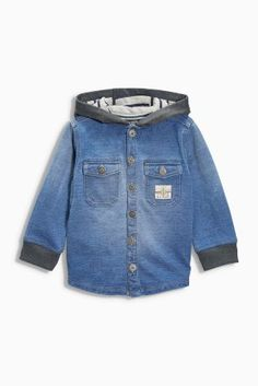 Buy Blue Chambray Shacket (3mths-6yrs) online today at Next: United States of America