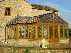 Hardwood Orangery designed and manufactured by Country Hardwood