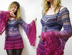 Hey, I found this really awesome Etsy listing at http://www.etsy.com/listing/155060800/crochet-dress-lace-rainbow-ombre-vintage