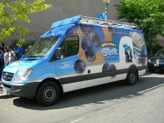 The Ben & Jerry's Truck will be making a stop at KORK, on 2 S. Miami Avenue on June 14 from 4 to 5 p. and giving FREE samples of the new Greek Yogurt! Thank you Jewel Figueras for making this happen! Mobile Food Trucks, Frozen Yogurt, Greek Yogurt, Ben And Jerrys Ice Cream, Van, Free Samples, Touring, Chains, Vans