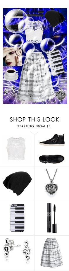 """""""Don't Care Casual"""" by bluebellandfrangipani ❤ liked on Polyvore featuring Ally Fashion, GUESS, Christian Dior, Bling Jewelry and Chicwish"""
