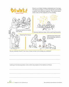 Worksheets: Diwali Traditions