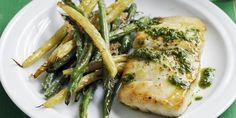 Cod with Crispy Green Beanswomansday