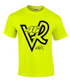 Valentino Rossi VR 46 Line Art Motorsport T-Shirt