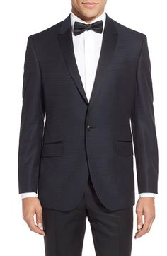 Ted Baker London 'Jules' Trim Fit Wool Dinner Jacket available at #Nordstrom