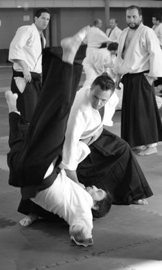 Seminario de #Aikido en BsAs, Argentina 2013 - Michel Erb Sensei Aikido by Nicolas Avila on 500px