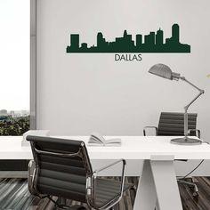 Milwaukee Skyline Vinyl Wall Graphic Stencil Decal Item By - Custom vinyl decals milwaukee