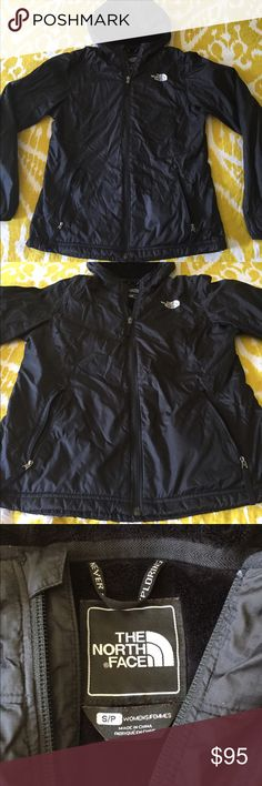 North Face jacket Lightweight yet warm jacket. Super soft on the inside. The North Face Jackets & Coats Puffers