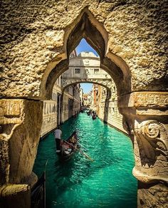 Boat trip on Bridge of Sights Venice, Italy…. Boat trip on Bridge of Sights 💦 Venice, Italy. Venice Travel, Italy Travel, Most Romantic Places, Beautiful Places, Places To Travel, Places To See, Vacation Places, Places In Italy, Italy Vacation