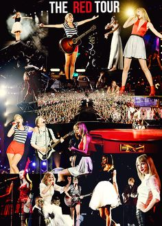 Taylor Swift - Red Tour - http://media-cache-ec0.pinimg.com/originals/8a/73/a6/8a73a6c372acd60c4286c81d1517fb2e.jpg
