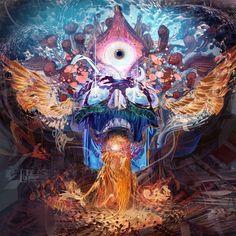 Este artista encuentra inspiración tanto en lo nuevo como en lo antiguo y en su obra mezcla espiritualidad, misticismo, tecnología y naturaleza
