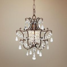 "Maison de Ville Collection 11"" Wide Mini Chandelier"