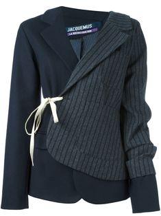 Jacquemus chaqueta estilo blazer de patchwork