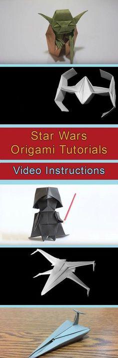 Star Wars Origami Tutorials Video Instructions