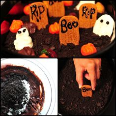 Halloween Dessert! (from wikiHow.com)
