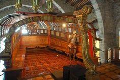 La música y la Armada en los siglos XVI, XVII y XVIII. Foto: Galera Real de Don Juan de Austria. || #Historia #navegacion #arrauna #remo