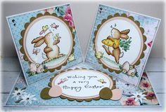 Stempeleinmaleins: Double Twisted Easel Card