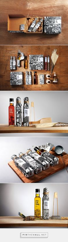 Oil, Hair, Body, Home - Full Range of Products Cha Tzu Tang — The Dieline - Branding & Packaging Designed by Victor Design