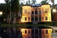 Ahmad Shah's Pavilion or Kushk-e Ahmad Shahi is the smallest palace castle inside Niavaran Palace Complex.