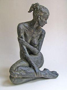 """Revel'Art, oeuvres d'art en ligne à """"prix atelier"""" ! Human Sculpture, Sculptures Céramiques, Sculpture Clay, Abstract Sculpture, Sculpture Garden, Outdoor Sculpture, Ceramic Figures, Ceramic Art, Art En Ligne"""