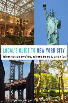 A local's guide to New York City, USA; the guide includes famous attractions, off the beaten path things to see in NYC, what to do in NYC, restaurants in New York City, and tips for #NewYorkCity #NYC #USA #travelguide #TravelDestinationsUsaNovember