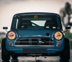Players Show Mini 2015 Rod Chong - Speedhunters Mini Cooper S, Mini Cooper Classic, Classic Mini, Classic Cars, Mk1, Minis, Mini Morris, Old School Cars, Cafe Style