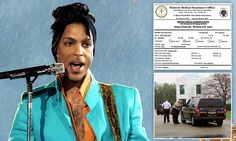 Prince died of opioid overdose, law enforcement official reveals | Daily Mail Online
