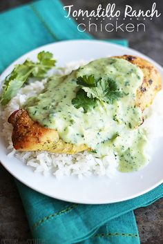 Tomatillo Ranch Chicken