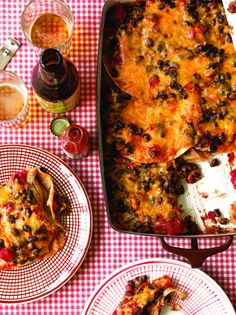 Black Bean Enchilada Casserole | 7 Quick Dinners To Make This Week