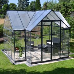 Palram Chalet 12 Ft. W. x 10 Ft. D Greenhouse