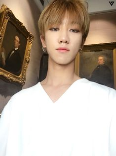 Seventeen the8 minghao selca aesthetic pink♡and♡cute