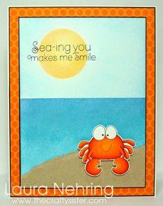 Sea-ing you makes me Smile! - A Jillian Vance Design