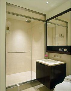 Spare Contemporary Bathroom by Gabriel Benroth