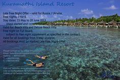 Kuramathi Island Resort - Late Free Night Offer
