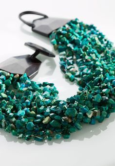 Monies Multi Strand Chrysocolla Necklace » Santa Fe Dry Goods | Clothing and accessories from designers including Issey Miyake, Rundholz, Yoshi Yoshi, Annette Görtz and Dries Van Noten