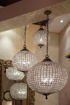 Globe Chandelier - Sweetpea & Willow London