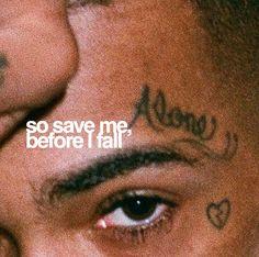 Então me salve, antes que eu caia save me by xxxtentacion