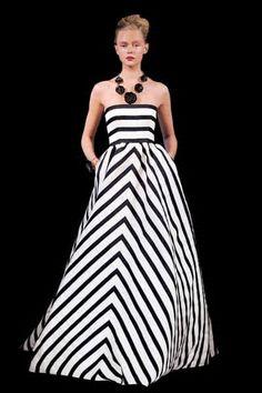 Spring 2013 Oscar de la Renta's Interpretation of Mod Fashion